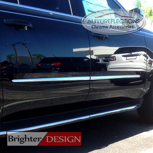Toyota Awd Van: Set Of Four Chrome Body Side Molding Fits 2011-2016 Toyota