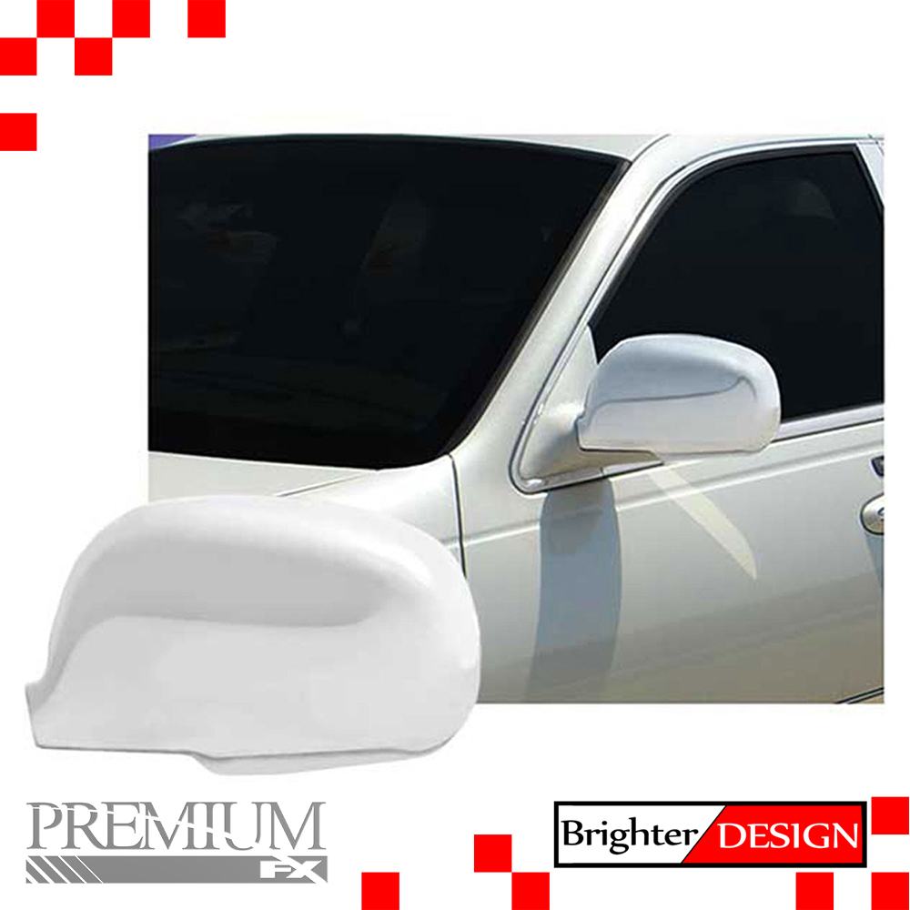 full mirror covers for 2003 2011 lincoln town car chrome premium fx ebay. Black Bedroom Furniture Sets. Home Design Ideas