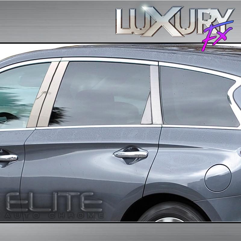 2014 Infiniti Qx60 Interior: Stainless Steel Pillar Post Trim Fit For 2014-2015