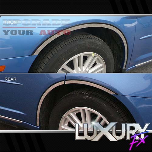 2007-2010 Chrysler Sebring 6p Luxury FX Chrome Fender Trim