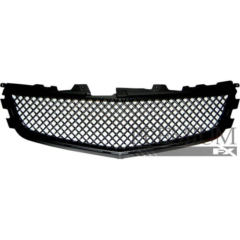 Premium FX Black ABS Mesh Performance Grille For 2009-2013