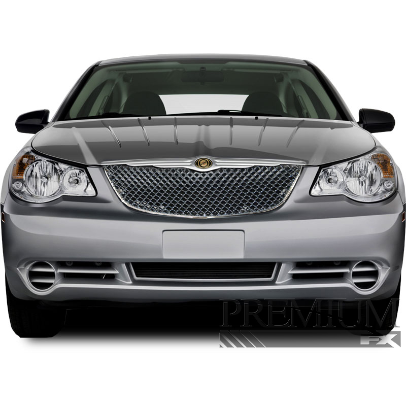 Premium FX Chrome ABS Mesh Replacement Grille For 2007
