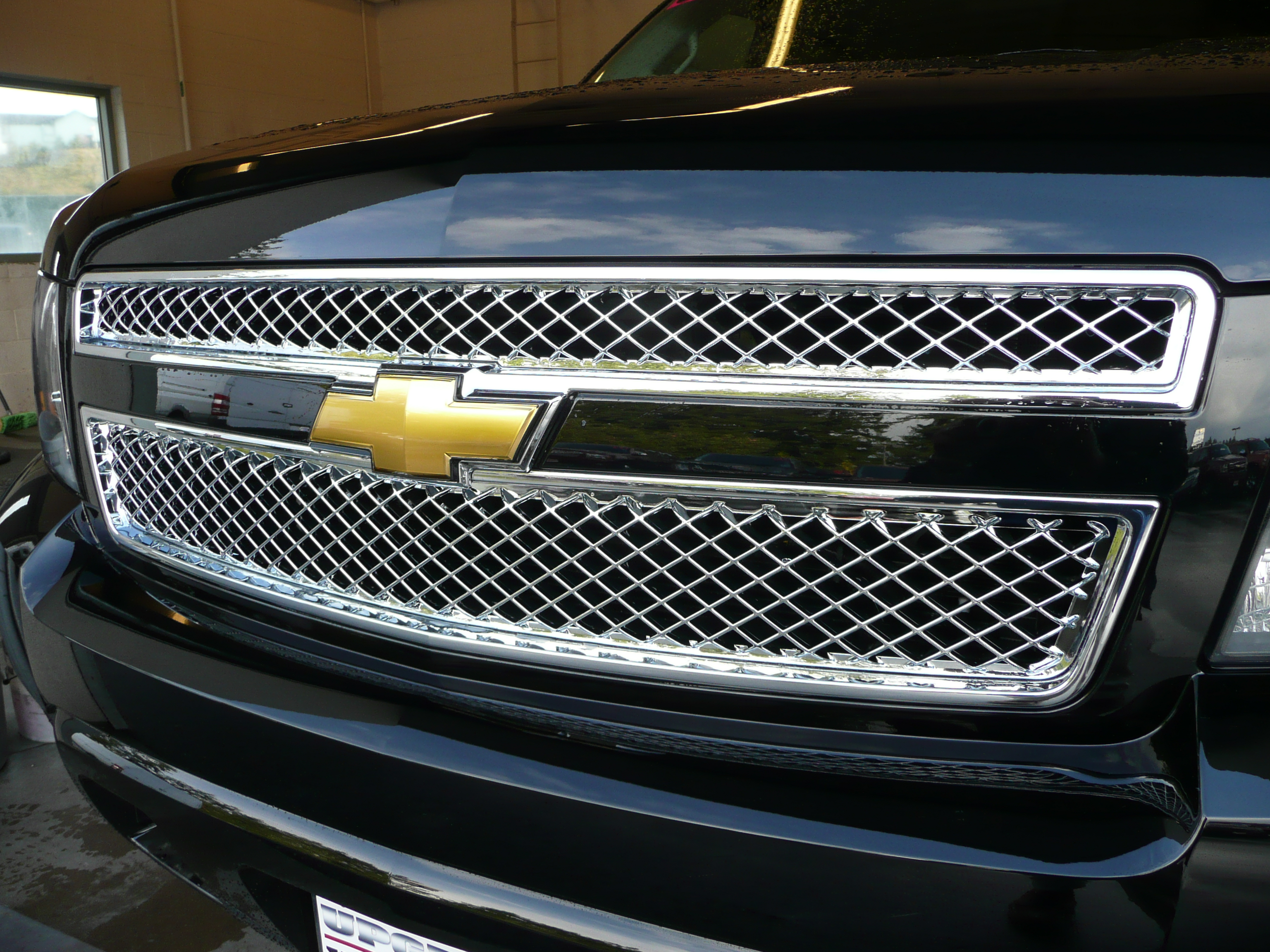 Chevy Suv Models >> 2pc Chrome ABS Mesh Grille Insert for 2007-2014 Chevy Tahoe LS, LT | eBay