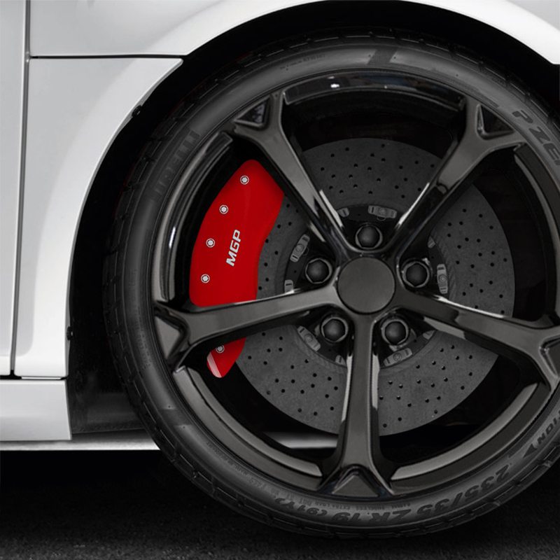Patriot Auto Sales >> Set of 4 Red MGP Caliper Covers for 2010-2014 Mercedes ...