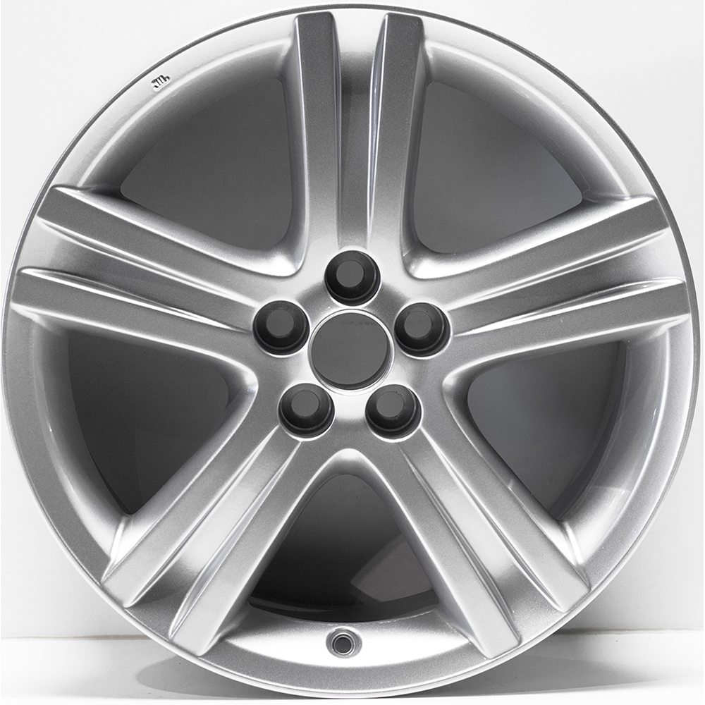 17 Quot Painted Silver Rim By Jte Wheels For 2009 2013 Toyota