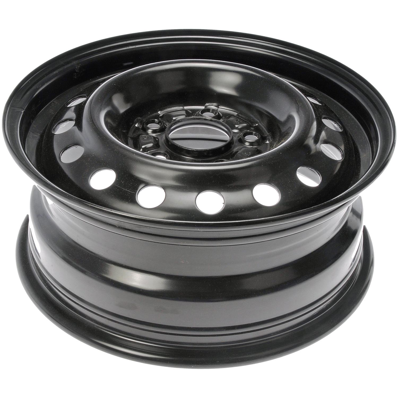 15 inch steel wheel for 2011 2016 hyundai elantra gloss black ebay. Black Bedroom Furniture Sets. Home Design Ideas