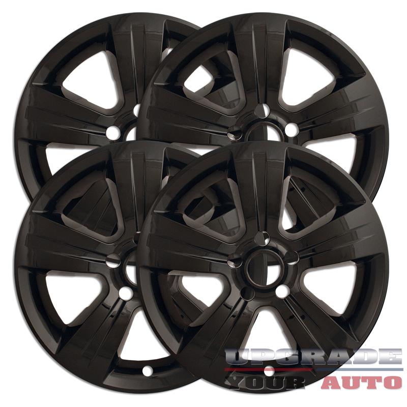 17 39 gloss black wheel skin covers for 2011 2014 jeep. Black Bedroom Furniture Sets. Home Design Ideas