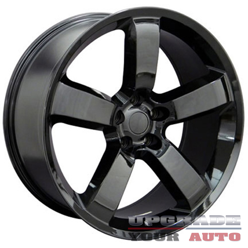 black wheel 20x9 charger srt style for 2008 2015 dodge. Black Bedroom Furniture Sets. Home Design Ideas