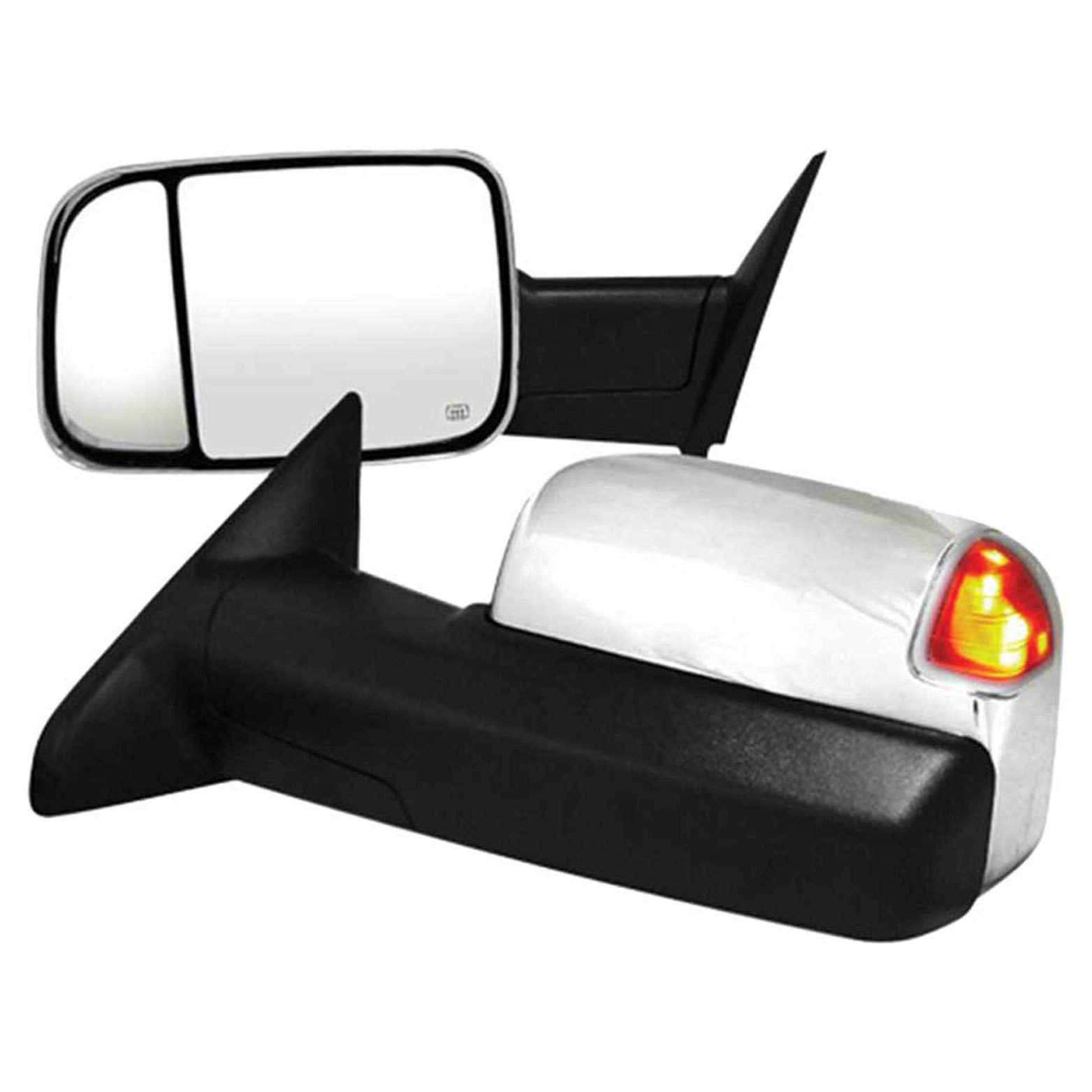 Premium Fx Chrome Power Heated Towing Mirrors For 2010