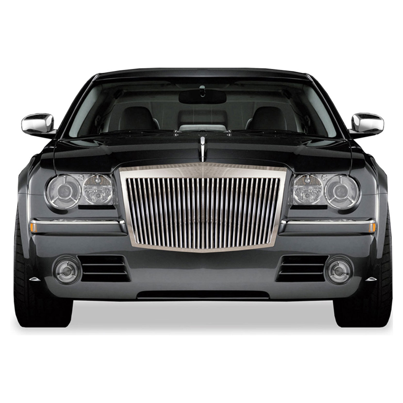 Chrysler 300: Premium FX Chrome Rolls-Royce Style Replacement Grille For