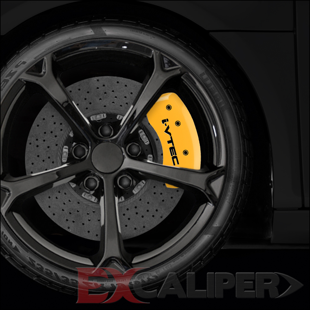 2012 Acura Tsx Special Edition For Sale: EXCALIPER Set Of 4 Yellow I-Vtec Caliper Covers For 2009
