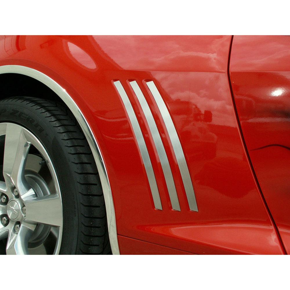 2010-2013 Camaro Rear Side Marker Trim Stainless Steel