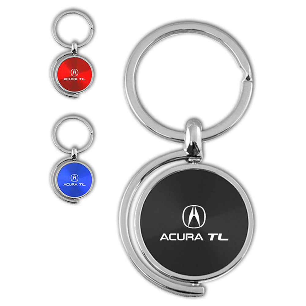 Name And Logo Spinner Keychain For Acura TL - AUGDP0223