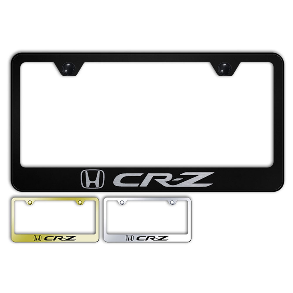 2X Lexus F SPORT Logo Stainless Steel License Plate Frame Rust Free W// Boltcap