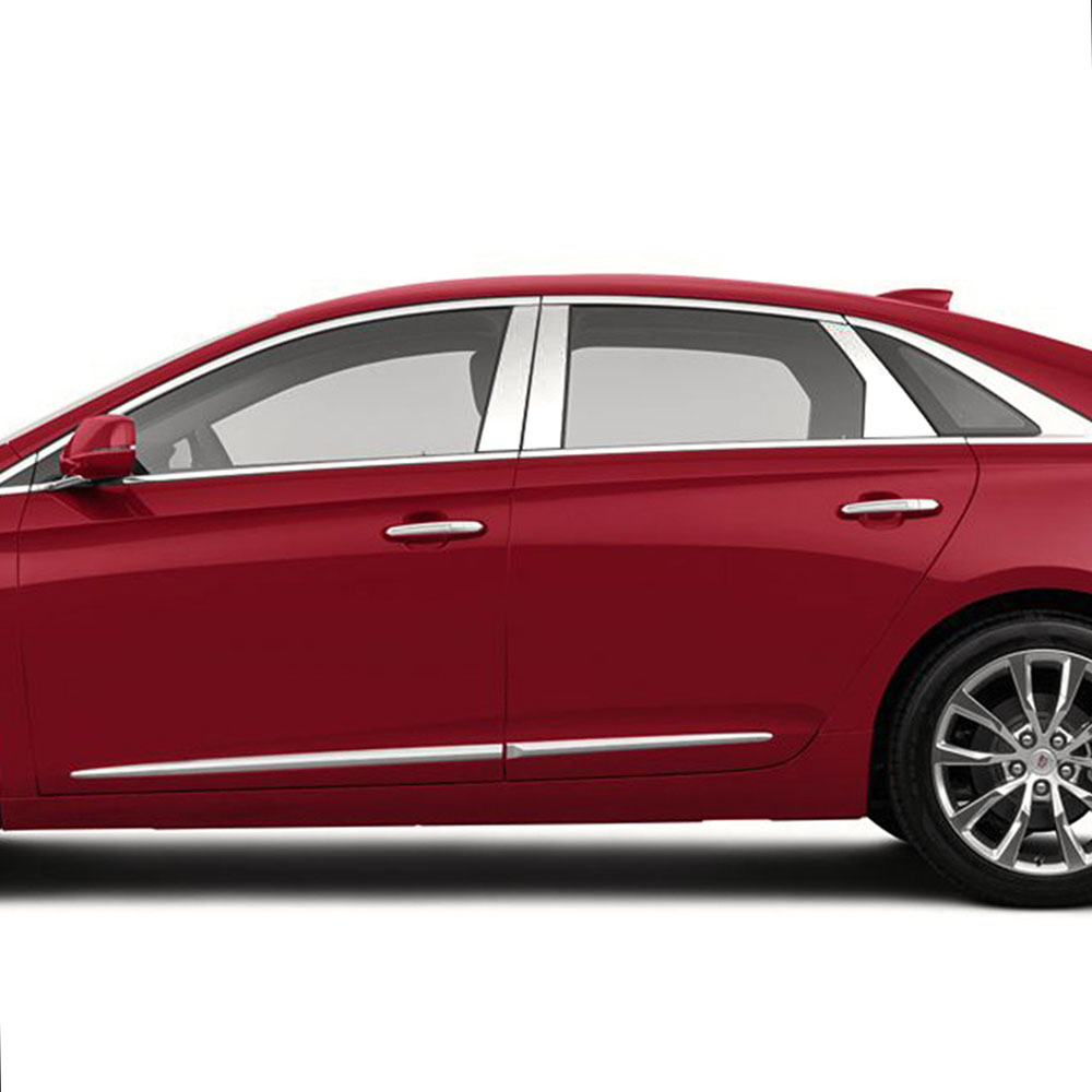 2019 Cadillac Xts: Pillar Post Covers For 2013-2019 Cadillac XTS [Stainless