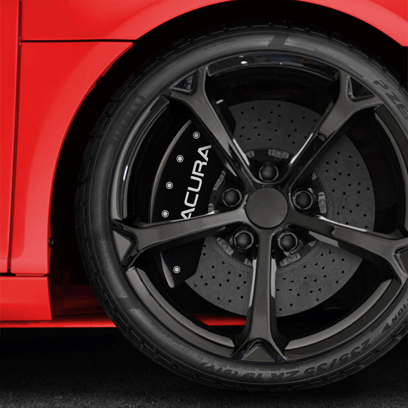 Black MGP Caliper Covers For 2014 Acura TL SE