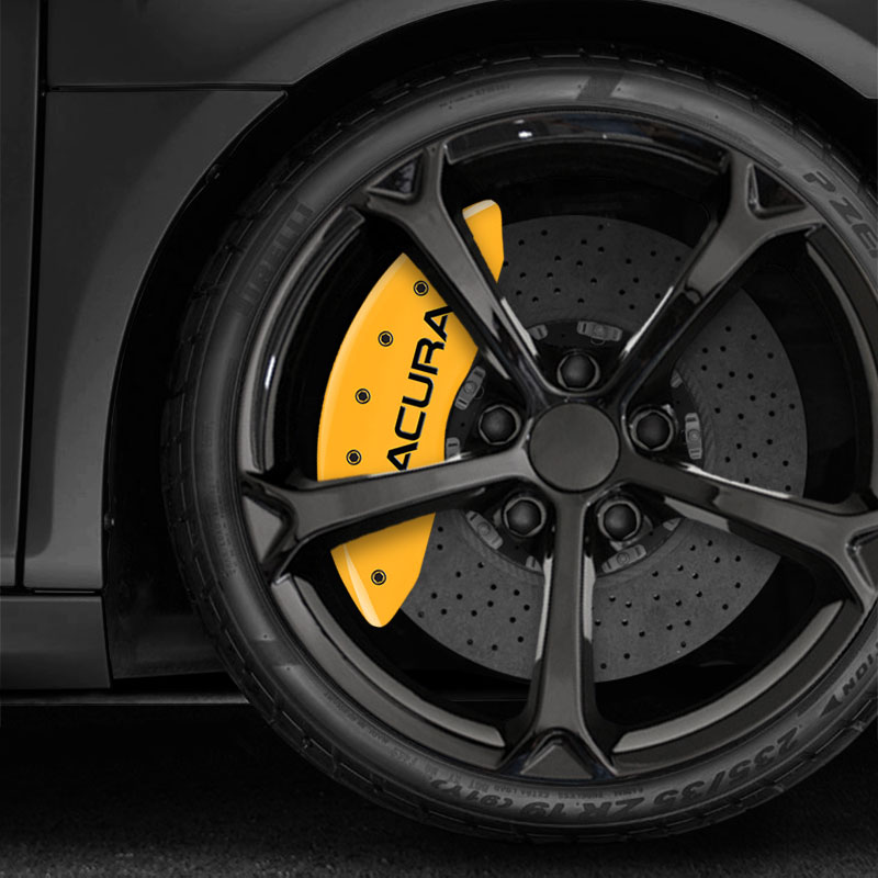 Yellow MGP Acura & MDX Caliper Covers For 2014-2016 Acura