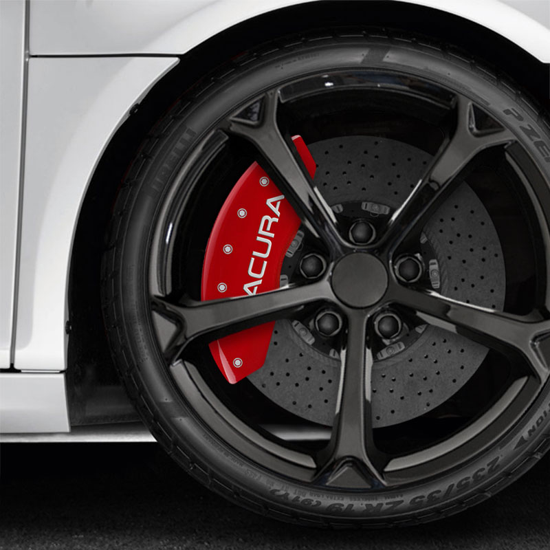 Red MGP Caliper Covers W/Acura/TSX For 2009-2014 Acura TSX