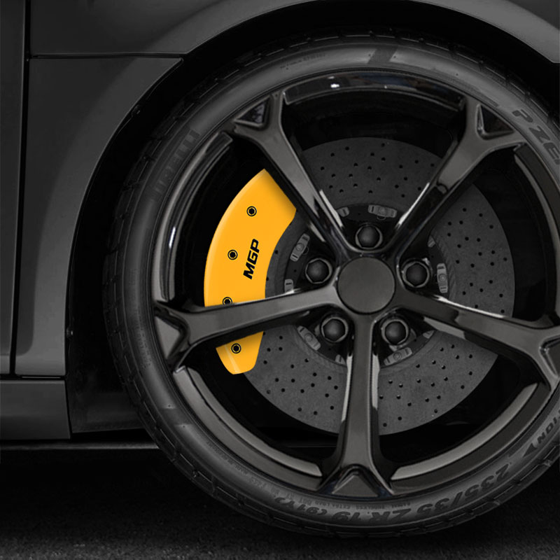 Yellow MGP Caliper Covers 2017-2018 Fiat 124 Spider