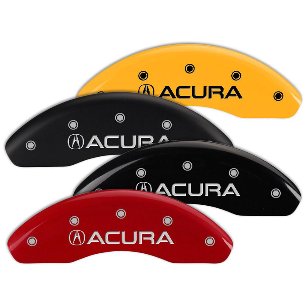 Set Of 4 MGP Brake Caliper Covers Fits Acura ILX W/Acura