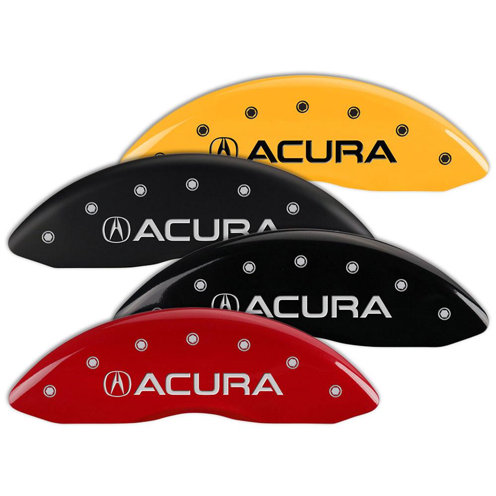Set Of 4 MGP Brake Caliper Covers Fits Acura MDX W/Acura