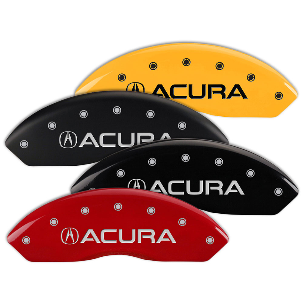 Set Of 4 MGP Brake Caliper Covers Fits Acura RDX W/Acura