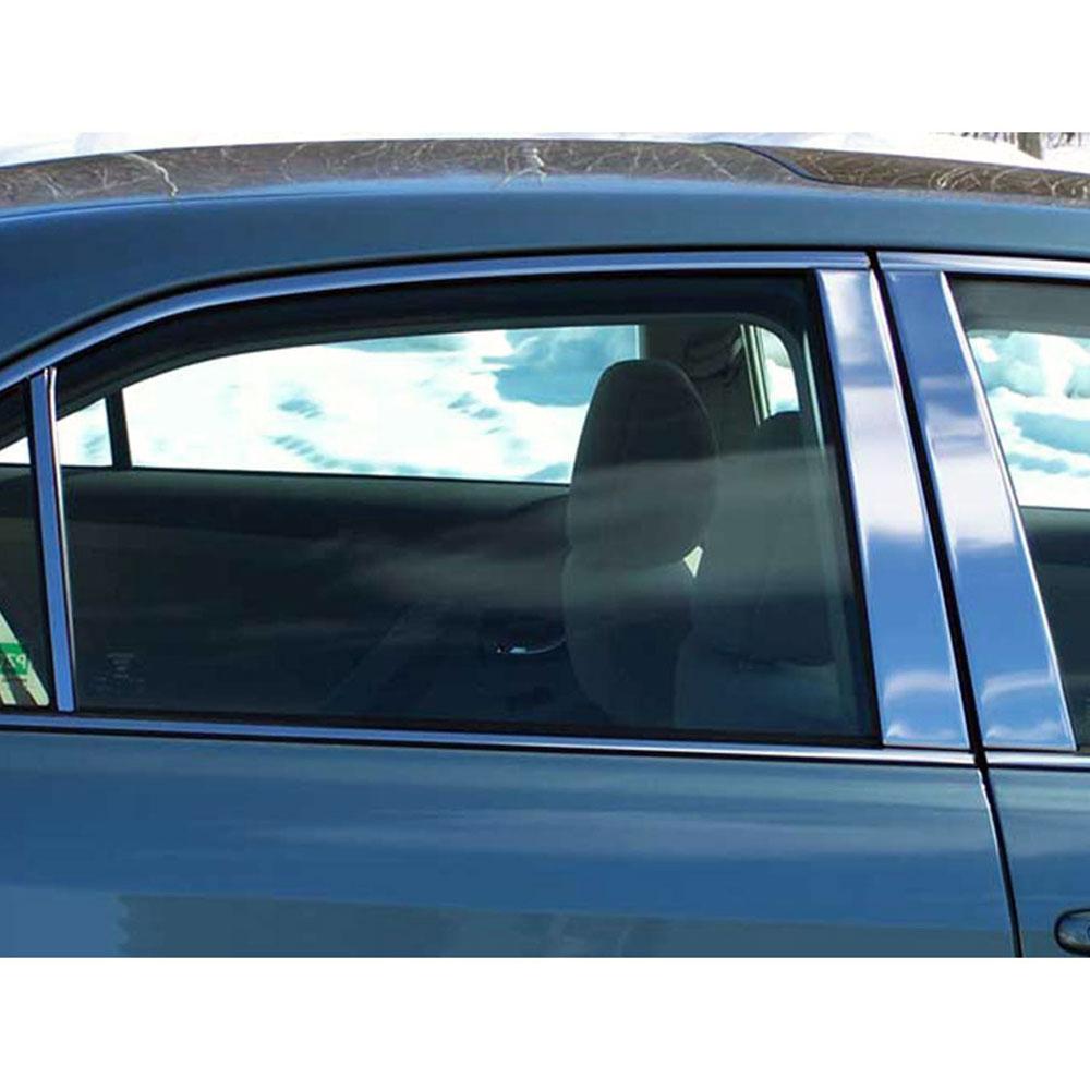 Brighter Design Chrome Pillar Post Trim 6 Piece Kit fit for 2006-2013 Chevrolet Impala Limited