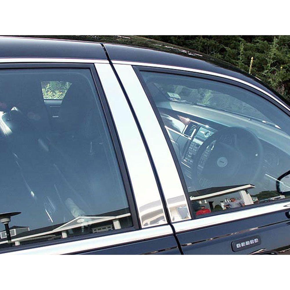 2011 Lincoln Town Car: 4pc. Luxury FX Chrome Pillar Post Set Fit For 1998-2011