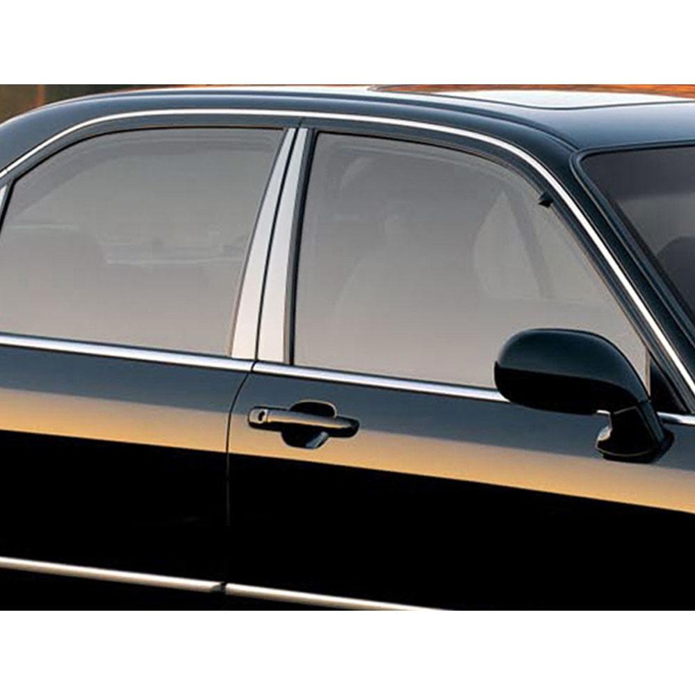 4p Stainless Steel Pillar Post Trim Fits 1996-2001 Acura