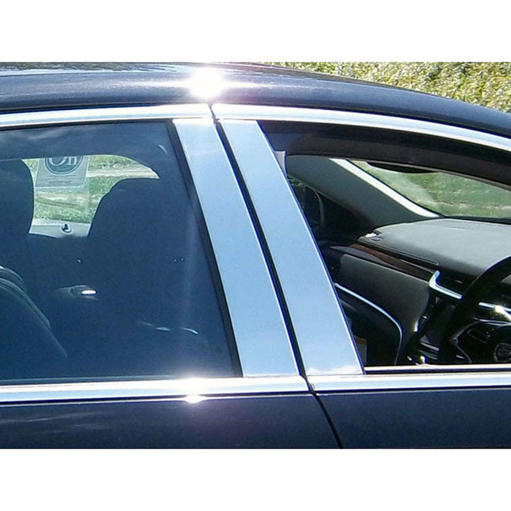 2019 Cadillac Xts: Chrome Pillar Post Trim 4 Piece Kit (fits: 2013-2019
