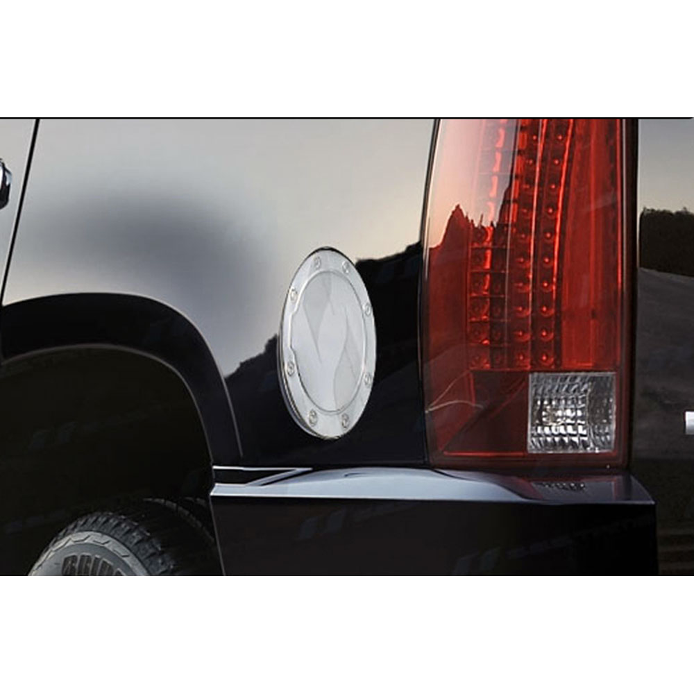 Chrome Gas Door Cover for 2007-2014 GMC Sierra 1500