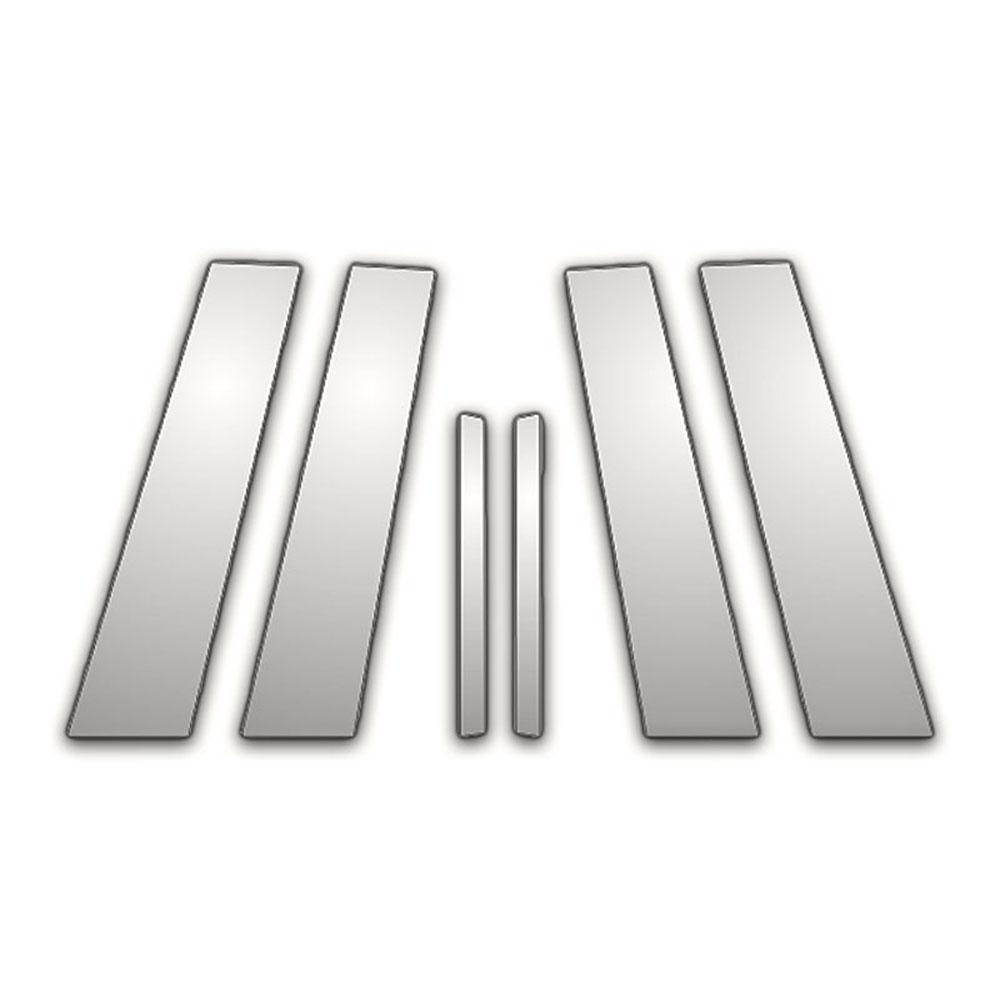 TYGER For 2011-2017 Buick Regal 6PC Stainless Steel Chrome Pillar Post Trim
