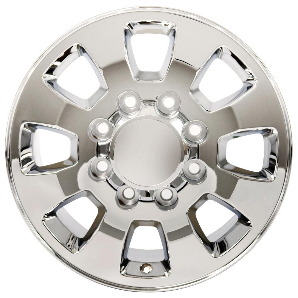 Chrome Wheel 18x8 Sierra 2500/3500 Style Fits 1997-2014