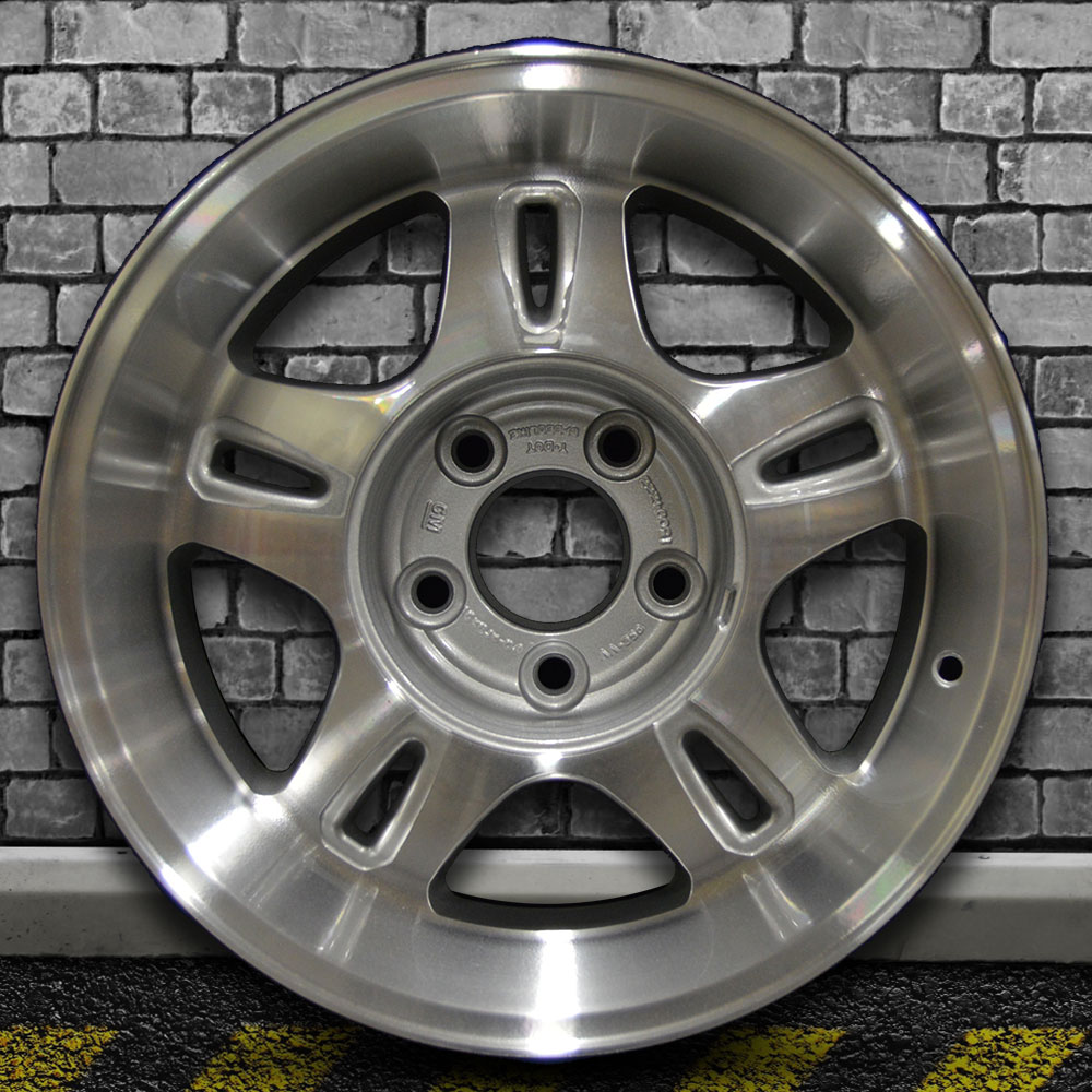 machined sparkle silver oem wheel for 2002 2003 chevy blazer xtreme 16x8 ebay machined sparkle silver oem wheel for 2002 2003 chevy blazer xtreme 16x8 ebay