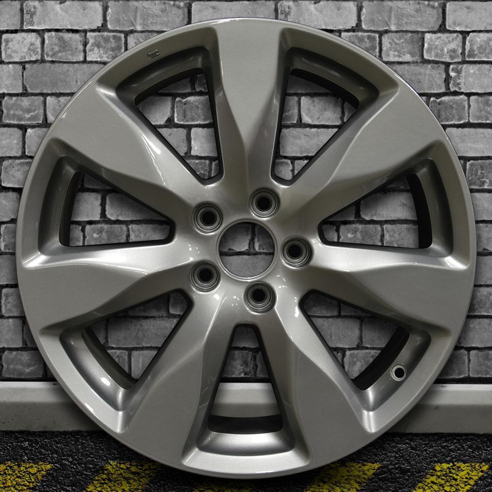 Full Face Fine Metallic Silver OEM Wheel For 2014-2015