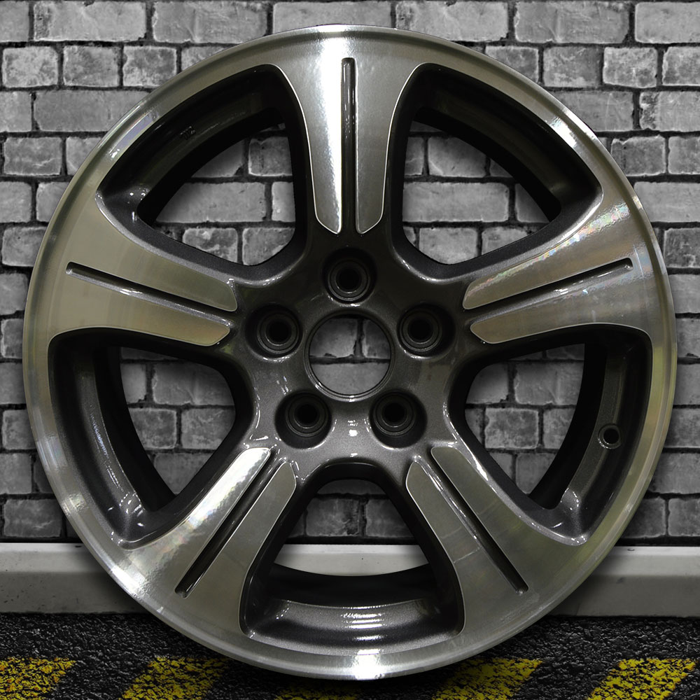 Machined Metallic Charcoal Oem Wheel For 2011