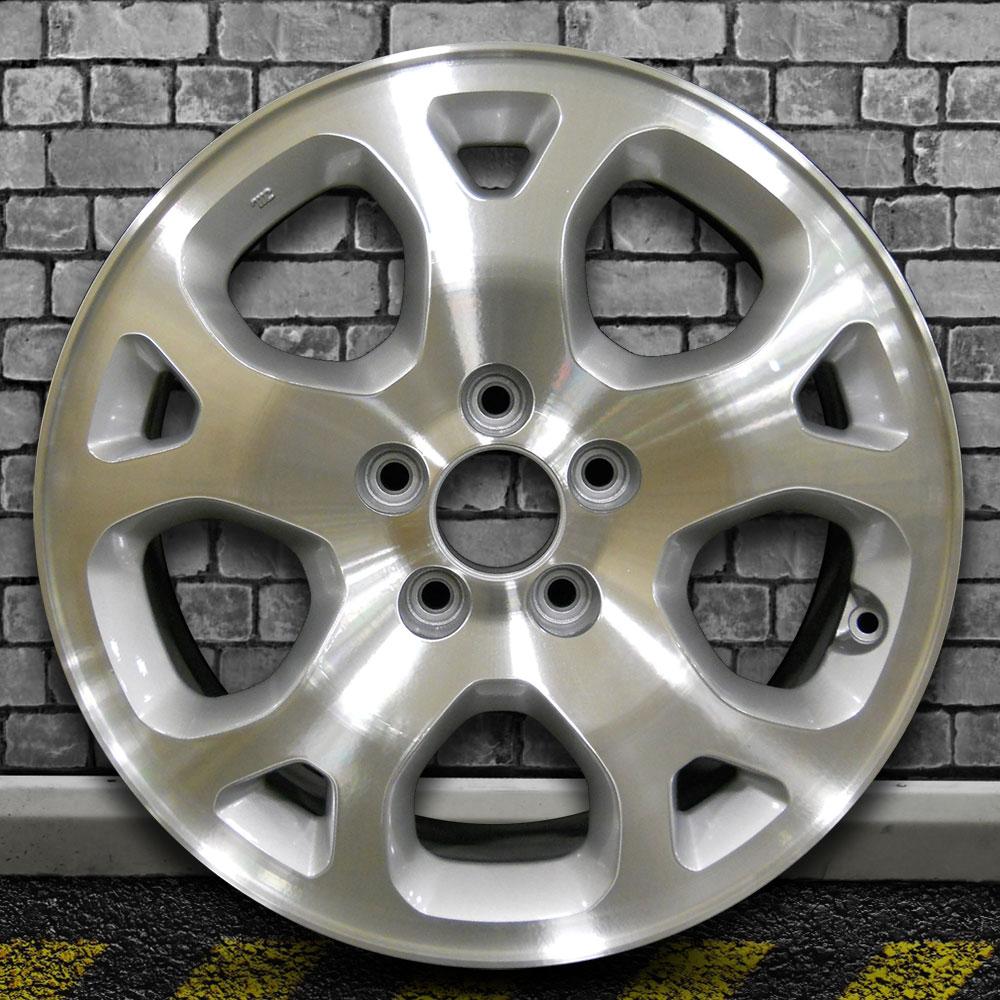 5 Split Spoke Medium Silver Machined OEM Wheel For 2001