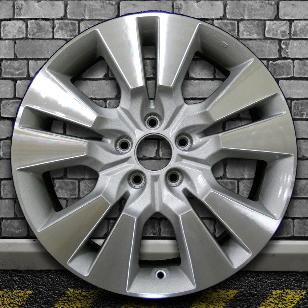 Machine Texture Metallic Silver OEM Factory Wheel For 2010