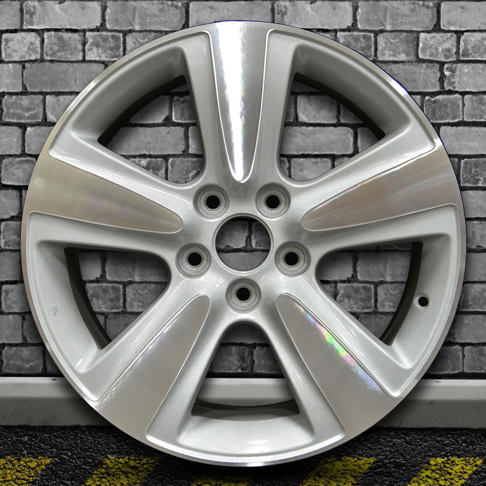 Machine Texture Gray Sparkle Silver OEM Wheel For 2010