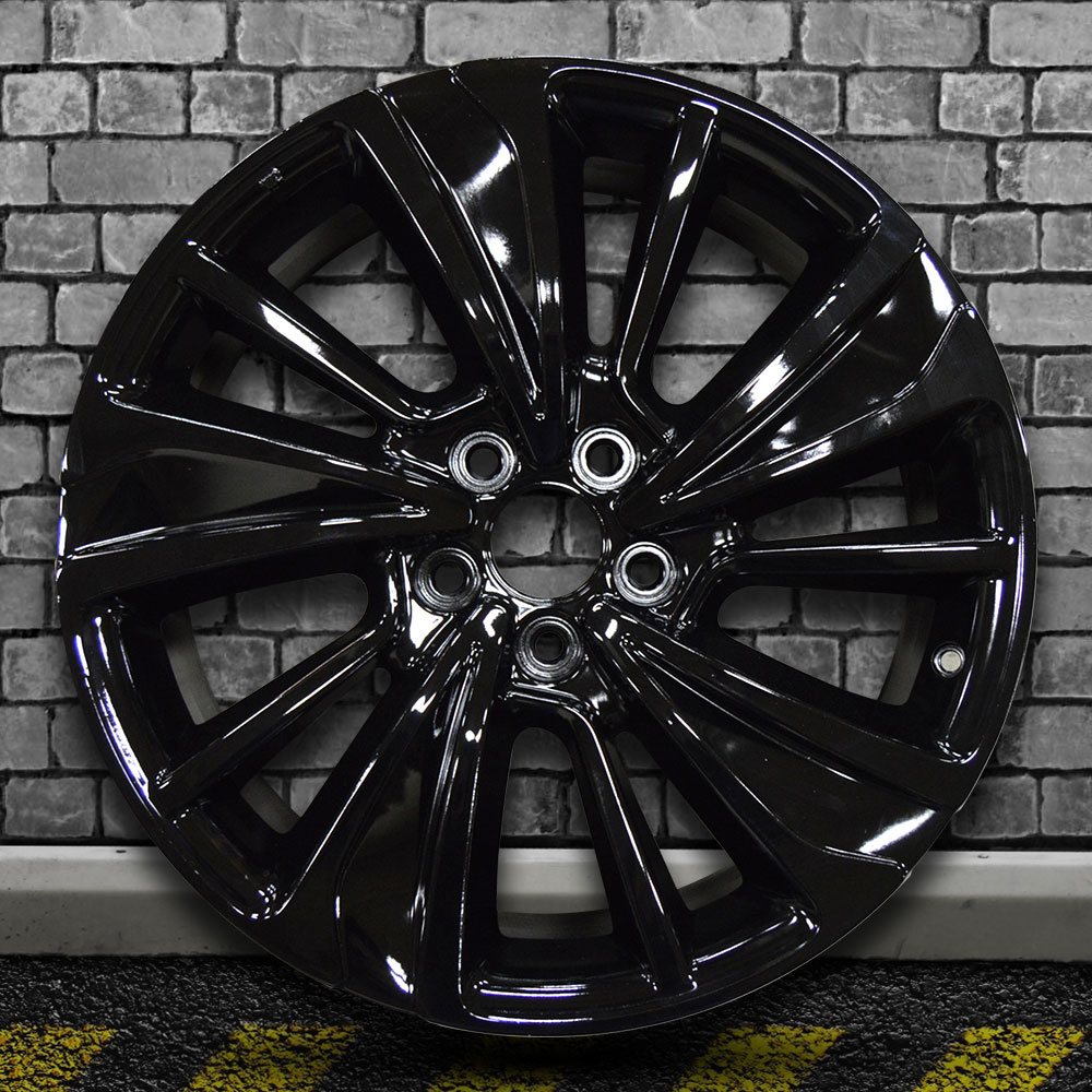 Black Full Face Factory Wheel For 2017-2018 Acura MDX