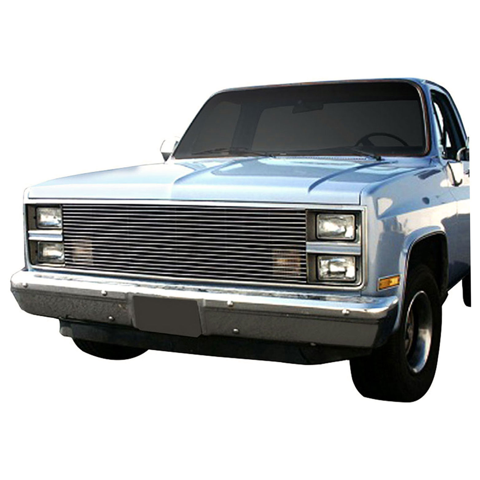 Replacement Billet Grille For 1981 1987 Chevy C10 Chrome Premium Fx Ebay