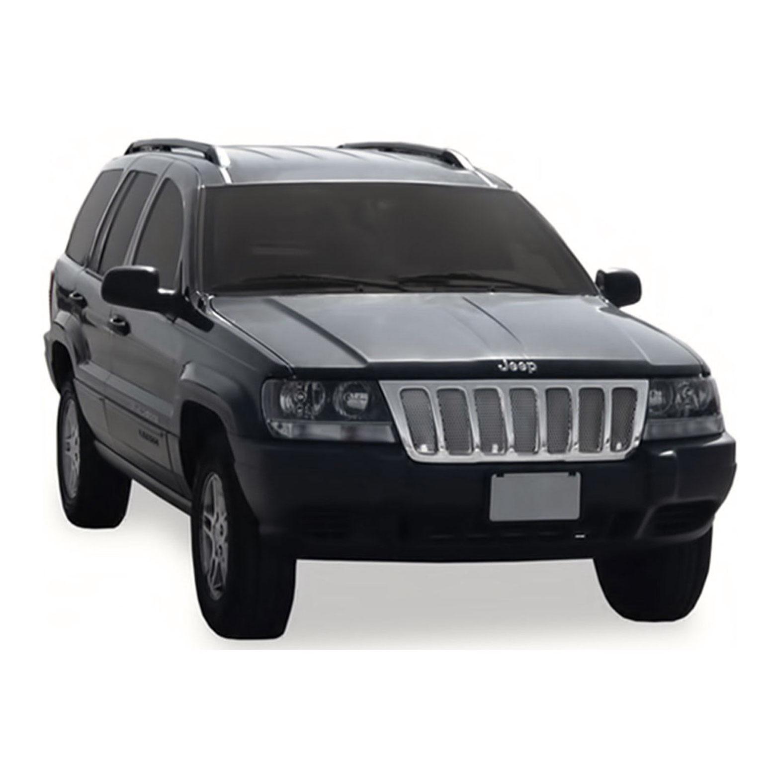 Full Mirror Covers for 1999-2004 Jeep Grand Cherokee Premium FX Chrome