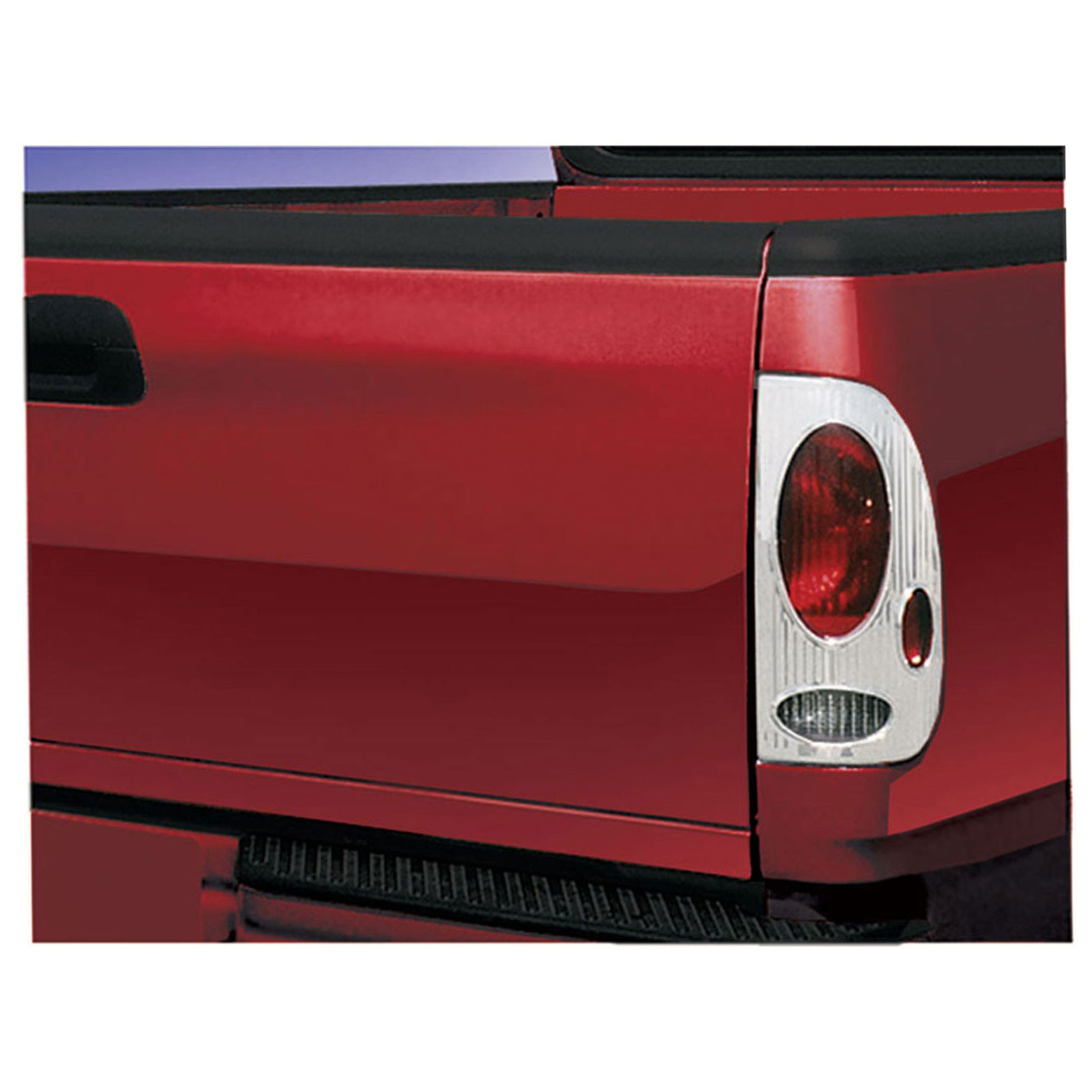 For Ford F-150 Fleetside 1997-2003 Chrome Taillight Covers