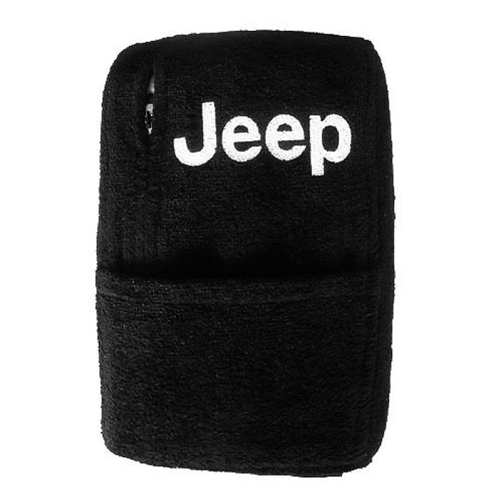 JEEP WRANGLER 2011-2018  Black  TOWEL Center Console Cover With Jeep Logo