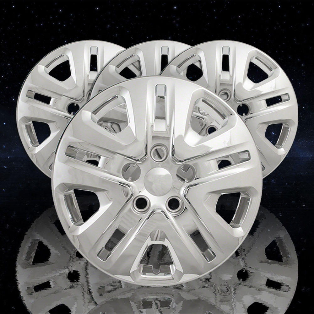 Auto Reflections Chrome 10 Spoke 17' Wheel Covers For 2013