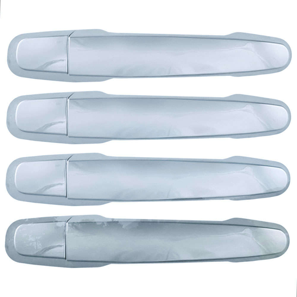 Set Of 4 Chrome Door Handle Covers For 2014-2020 Chevy