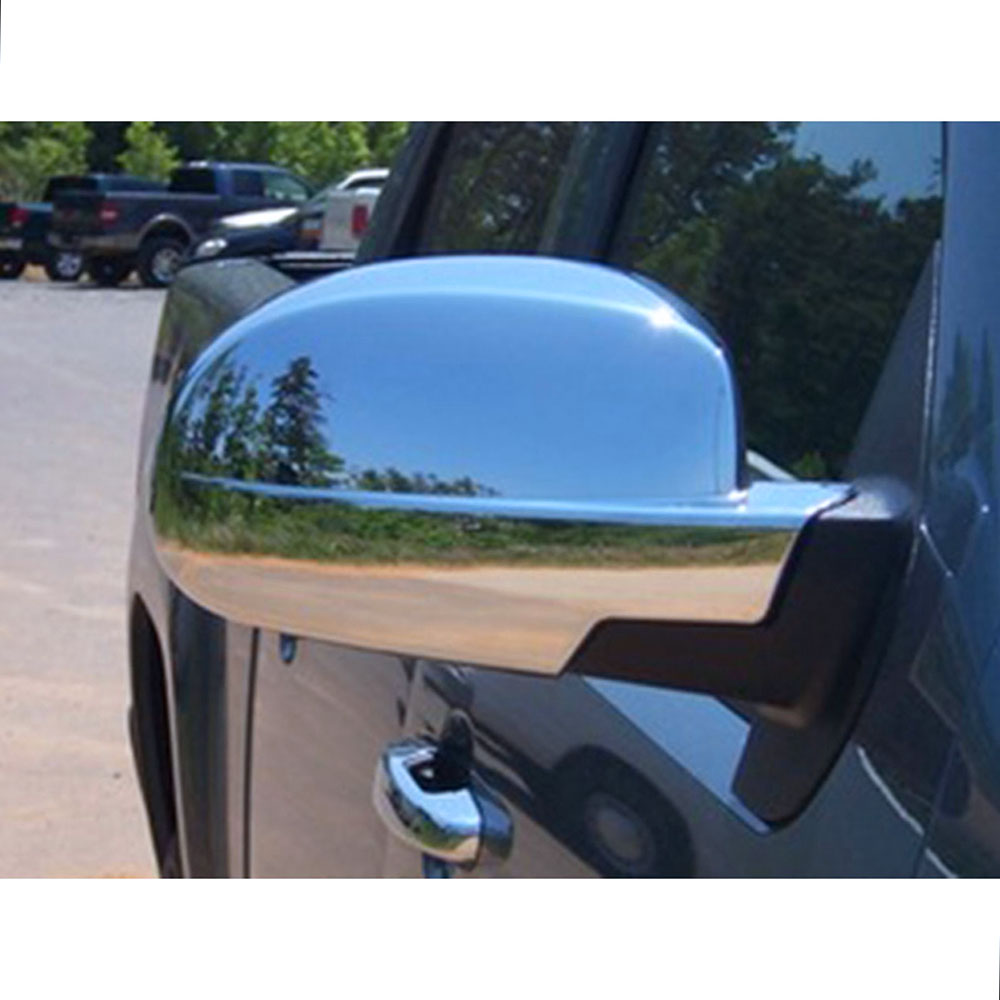 For Chevy AVALANCHE All Models 2007-2012 2013 Chrome Bottom Half Mirror Covers
