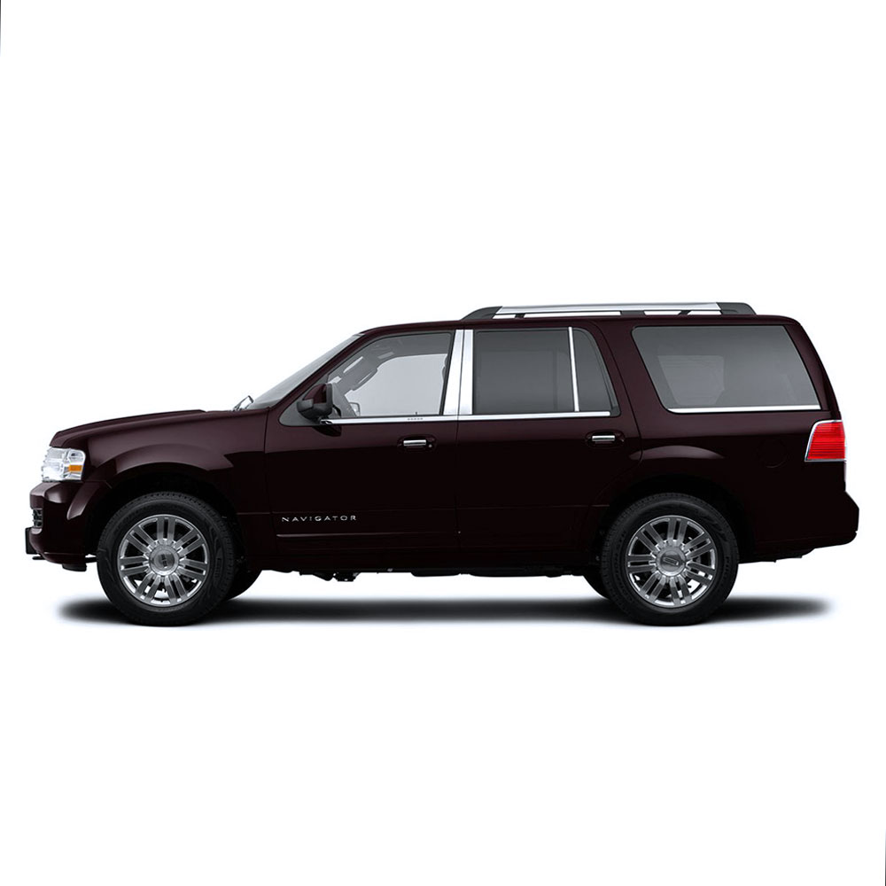 Auto Reflections Pillar Post Covers fit for 1997-2017 Ford Expedition 6p