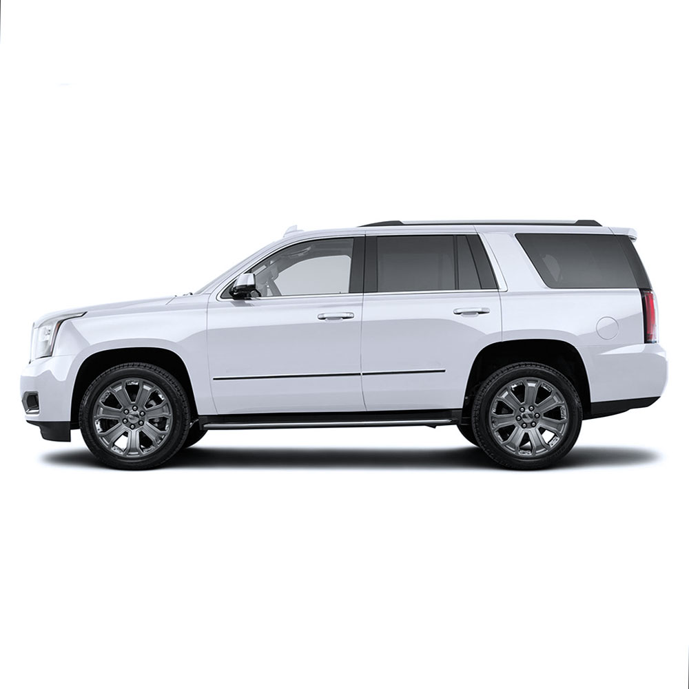 2019 Gmc Yukon: 4pc Stainless Steel Factory Style Side Molding Trim For