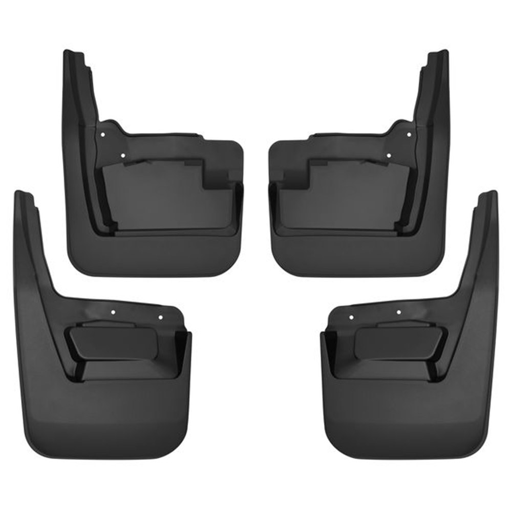 Husky Liners 58271 Black Front Mud Guards Fits 2019 GMC Sierra 1500